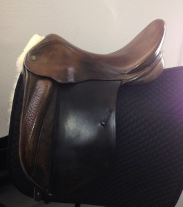 "* MK Marcus Krehan dressage 17"", wide tree $595.00"