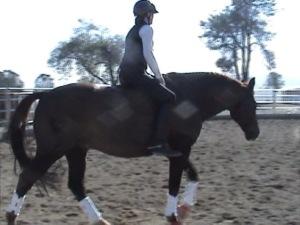 Sheryl still loves riding bareback