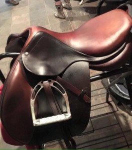 CWD used jumping saddle